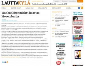 WLM lauttakylä 01.11.2014